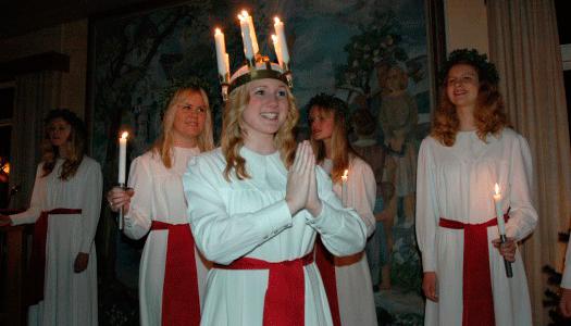 SPF Toarp har haft Luciafest