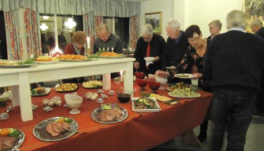 Kontakt Bjurholm åt julmiddag på värdshuset