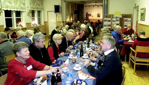 Julfest på Majstångsbacken