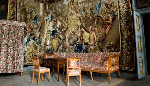 Alexandertapeten var för dyr för kungen