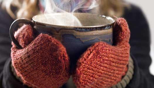 Värm dig med varma drycker