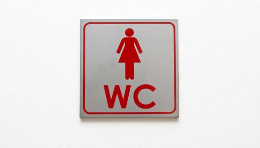 Gör ett betalkort för offentliga toalettbesök