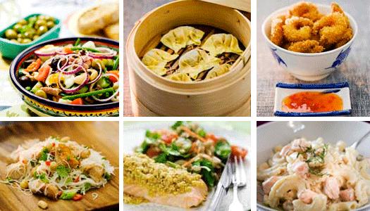 God mat med internationella smaker