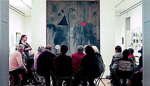 Konsten väcker minnen till liv