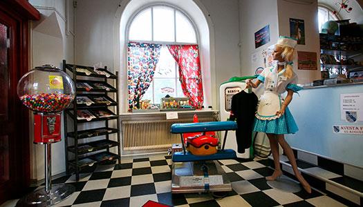 För rockabillyfans: 56'ans café i Krylbo