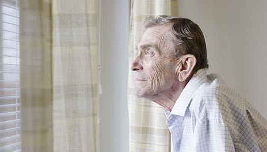 Social fobi får 65+ att isolera sig