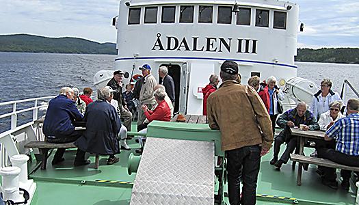 Resa med MS Ådalen