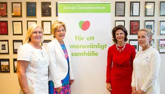 Elit på plats när Svenskt demenscentrum jubilerade