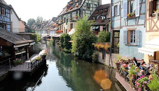 Vinresa till Alsace