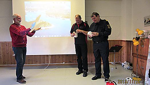 Polisman fängslade SPF-pensionärer på Majstångsbacken i Mora