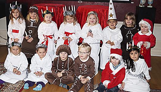 Månadsmöte med julbord hos SPF klubb 65 Hallstahammar