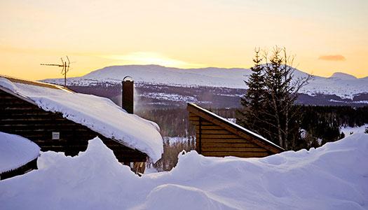 Kolåsen, Jämtland: Vinter i vildmarken