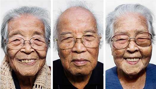 Hundra år av hälsa verklighet på Okinawa
