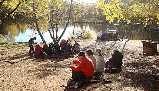 Natur och kultur med SPF Alebygdens vandrare