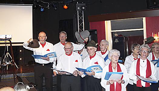 Upptaktsmöte med julgröt hos SPF klubb 65 Hallstahammar