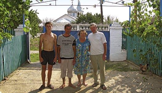 Zmievka, byn i Ukraina där tiden stannat