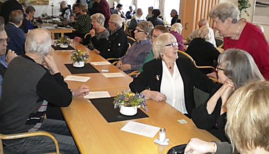SPF Pärlan Älvsbyn årsmöte i musikens tecken