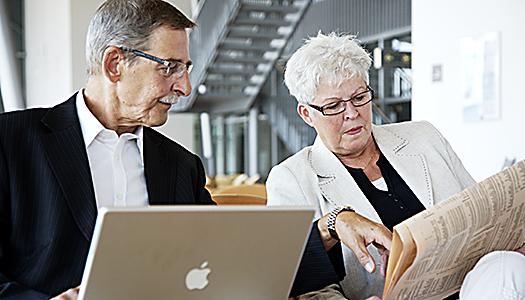 Negativa seniorer ovanligt positiva
