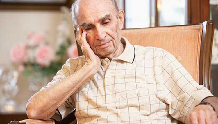 Andelen äldre med omsorg minskar