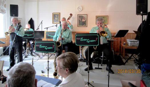 Välbesökt Musikcafé på SPF i Mora