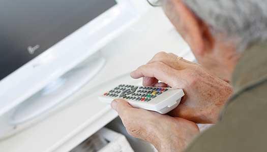 Ekonomisatsning för pensionärer sänds i tv