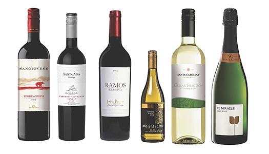 Bra viner för liten kassa