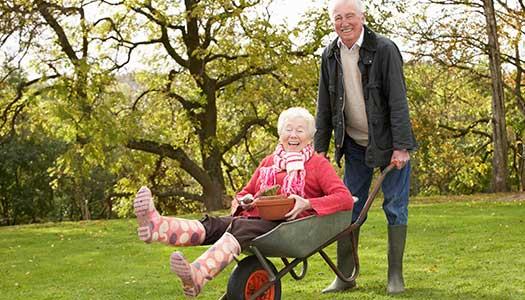 Pensionärer är mer tillfreds än yngre