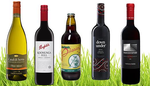 Påskdryck – Det våras i vinrabatten