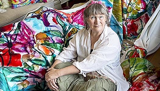 """Lena Linderholm – """"Jag kan inte leva utan att måla"""""""