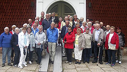 SPF Ljungby på vift i Dalarna