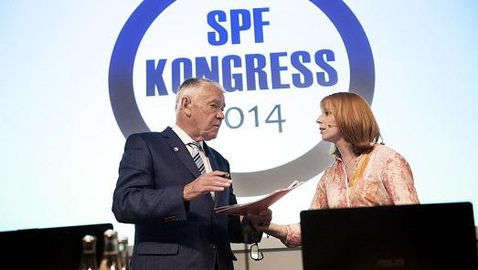 Annie Lööf gillar SPFs valmanifest