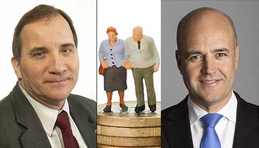 Pensionärsledarna kräver toppmöte med Reinfeldt och Löfven