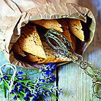Lavendelbiscotti