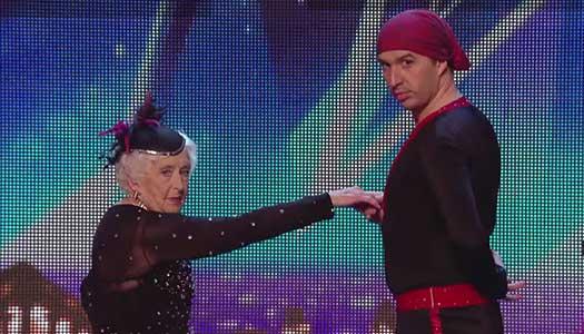 Tog upp dansen vid 69