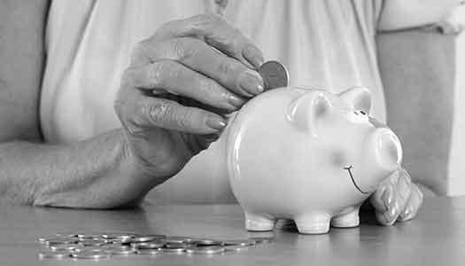 Svag pensionsökning nästa år