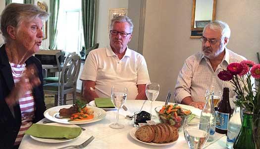 Barbro Westerholm besökte Lidköping