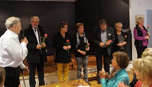 Månadsmöte hos SPF klubb 65 Hallstahammar