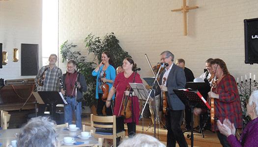 Mandelpären bjöd på härlig folkmusik