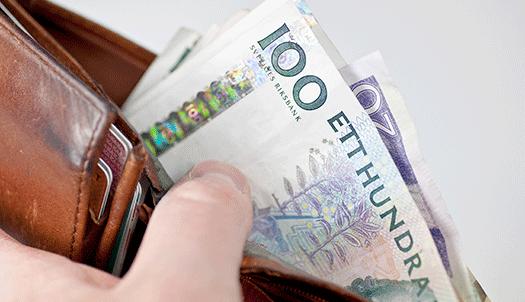 Varför betalas pensionen ut redan kring den 19 varje månad?