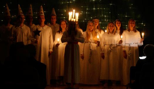 Roten firar in julen