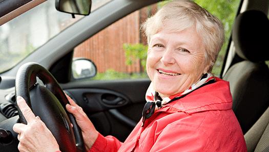 Alltfler pensionärer blir beroende av bilen