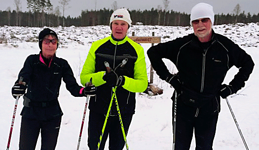 Falubygdens skidåkare i perfekta spår