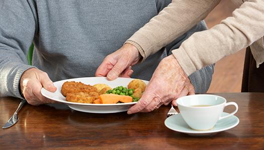 Regeringen lovar satsa på äldres mat