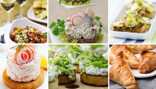 Skåla in våren med små smörgåsar