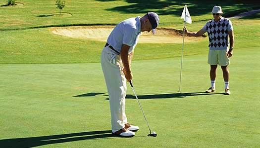 Tävla i golf