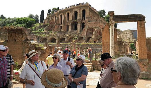 Glumslöv besökte Rom