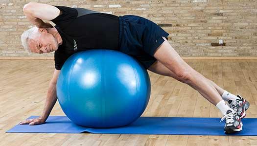 Fysisk träning lindrar depressioner