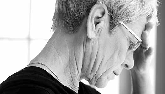Vaga besked om äldres psykiska ohälsa