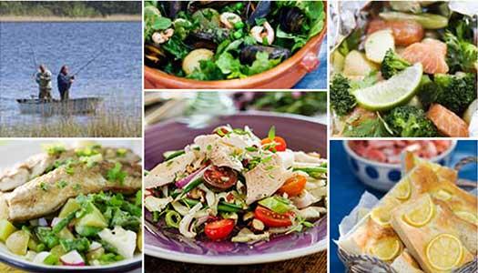 Fiskelycka – mat från sjön