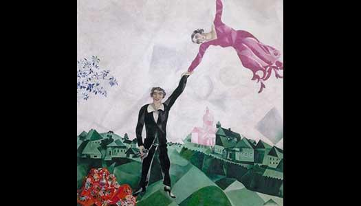 Chagallutställning får nytt format